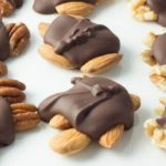Decadent Healthy Dark Chocolate Turtles
