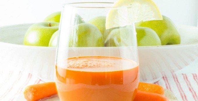 """Immune Booster"" Carrot Apple Juice"