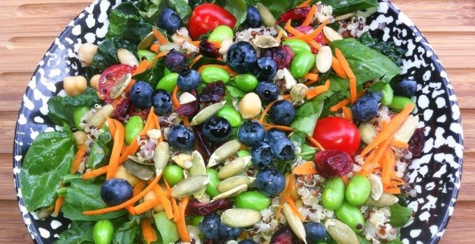 "Kale Quinoa ""Superfoods""  Salad"