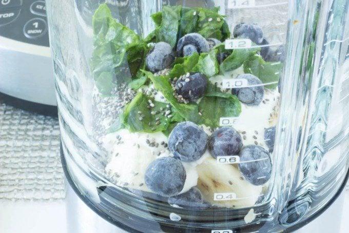 blueberry chia blender