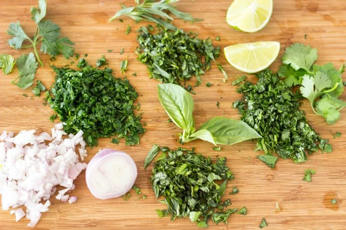 Image result for chopped herbs