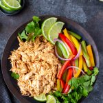 shredded chicken for crockpot chicken fajitas