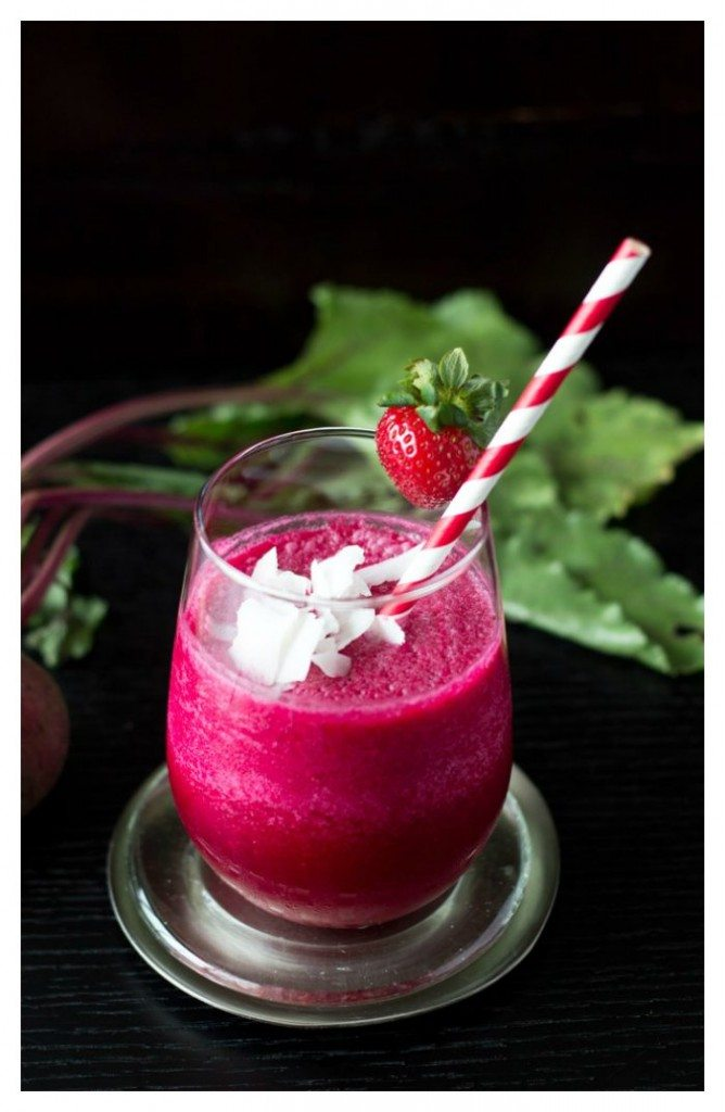 beet it up beet smoothie via simplehealthykitchen