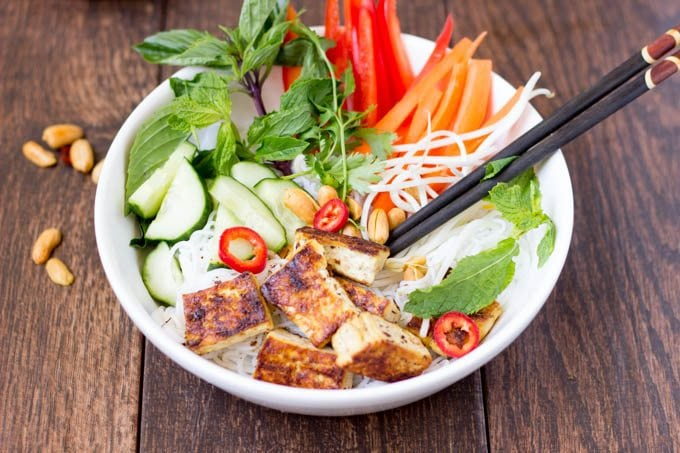 Vietnamese Noodle Salad - Simple Healthy Kitchen