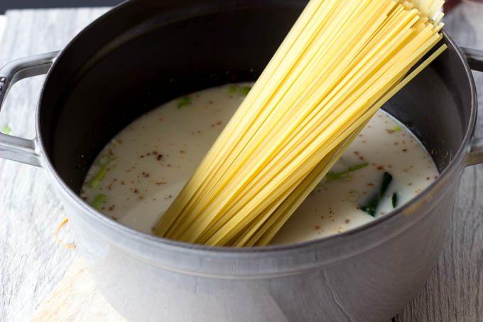 pasta for one pot peanut noodles