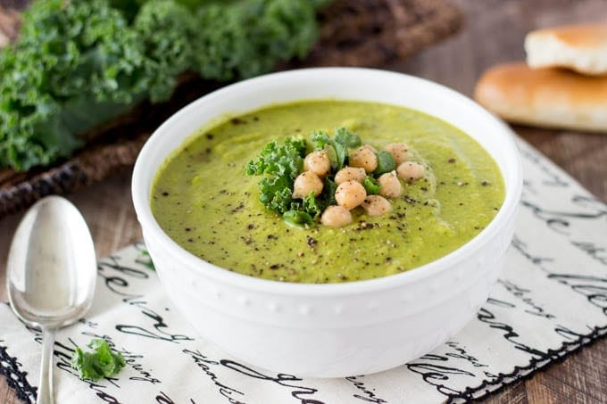 curried chickpea and kale soup FG