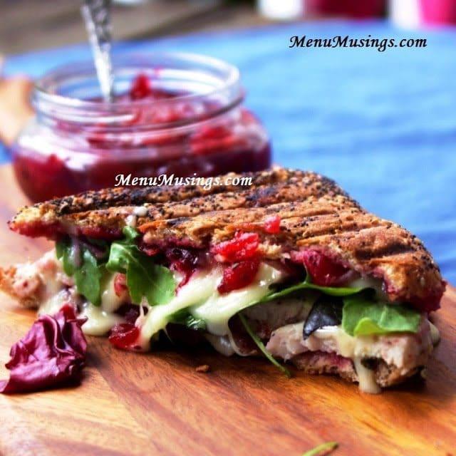 menumusings.com turkey panini