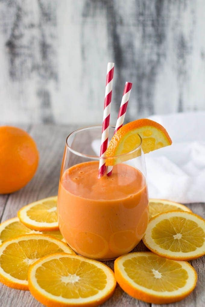stress buster smoothie - simplehealthykitchen.com