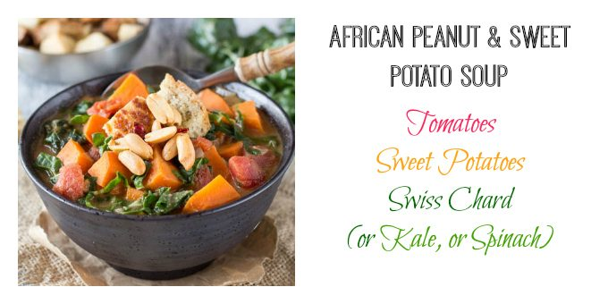 african peanut and sweet potato soup