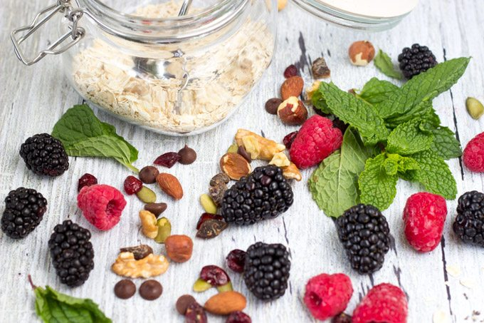 power breakfast bowl ingredients -simplehealthykitchen.com #oatmeal (1 of 1)