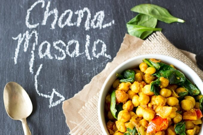 quick and easy channa masala - SimpleHealthyKitchen.com #healthy #indian-1