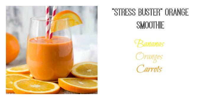 stress buster orange smoothie simplehealthykitchen.com