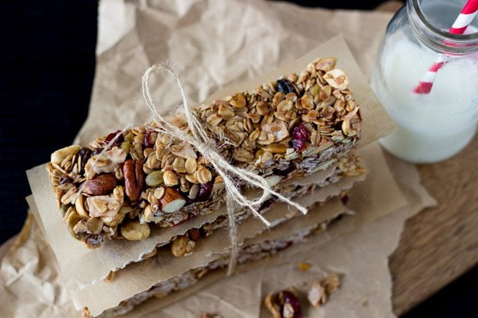 no bake trail mix granola bars -simplehealthykitchen.com (1 of 1)