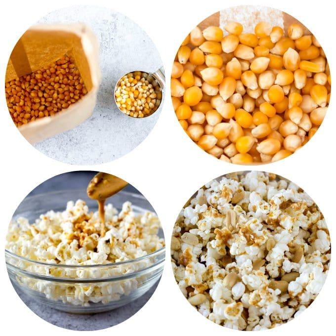 thai popcorn collage