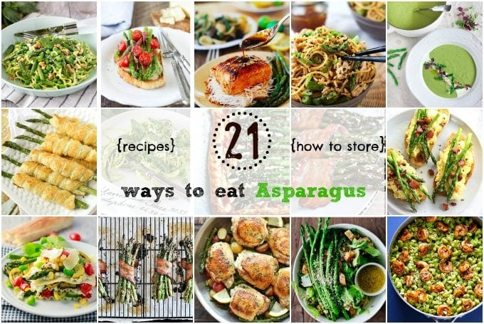 21 Ways to Eat Asparagus