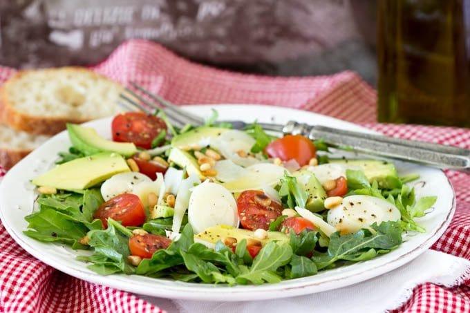Italian Salad 2 - SimpleHealthyKitchen.com