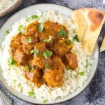 Crockpot Indian Butter Chicken {Easy & Healthy}