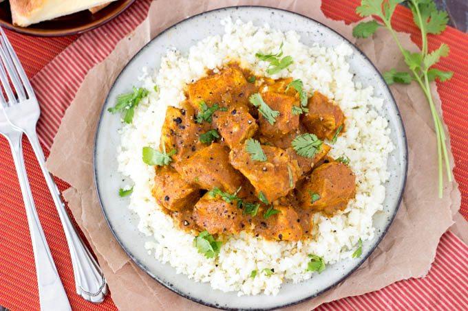 Crock pot Indian Butter Chicken {Easy & Healthy}