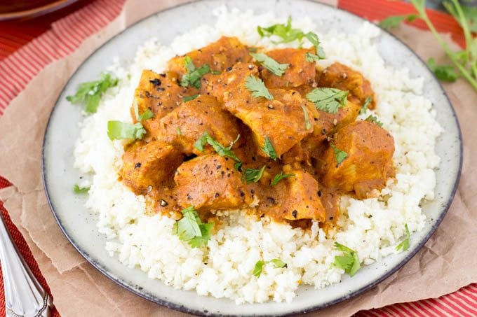 Crockpot Indian Butter Chicken {Easy & Healthy} - Simple Healthy ...