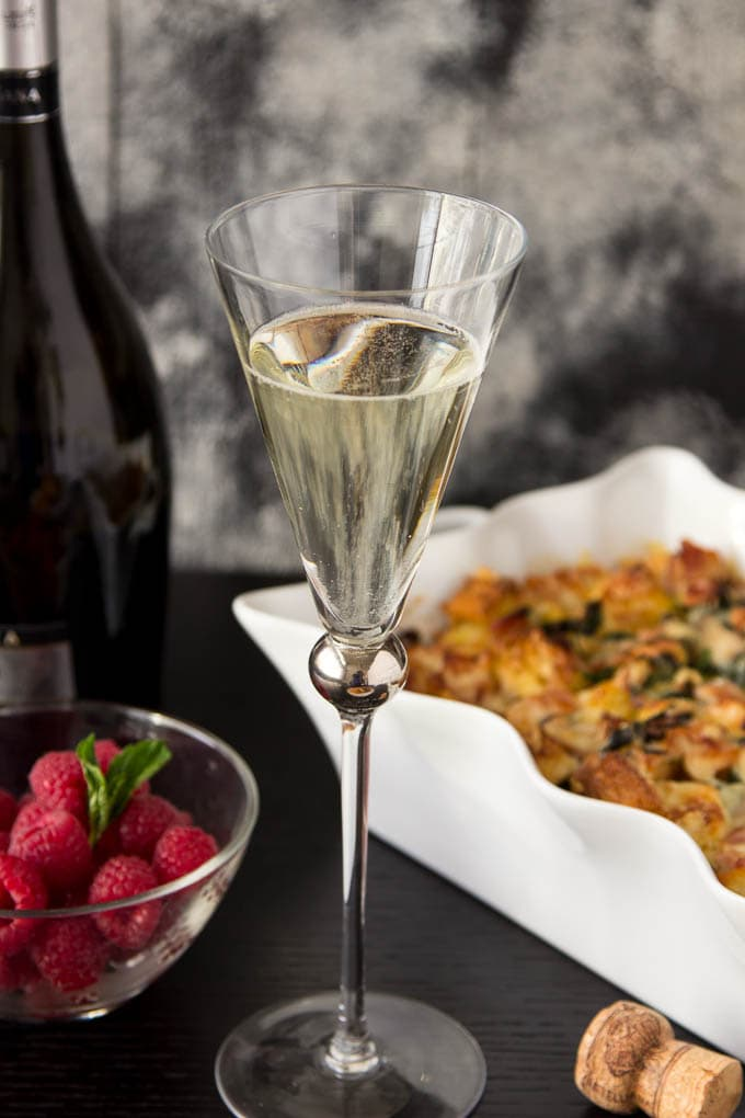 Champagne Brunch Easy Breakfast Casserole