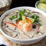 Thai Coconut Soup with Shrimp (Tom Kha Goong)