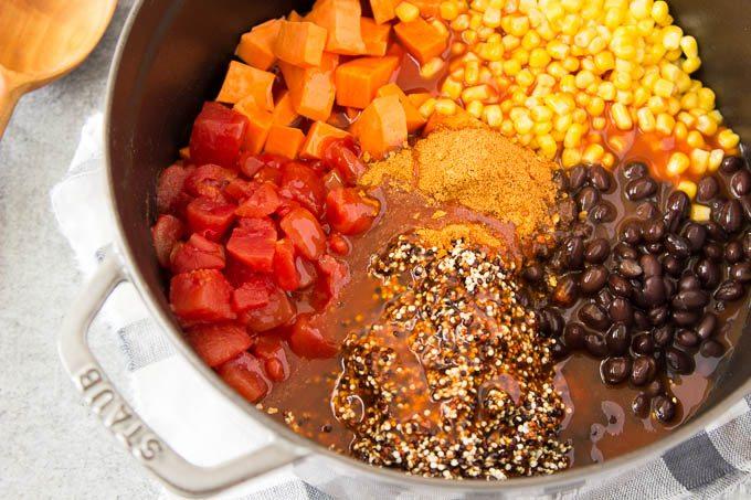 black_bean_enchilada_quinoa -one-pot 3