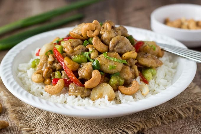 how to cook cashew chicken