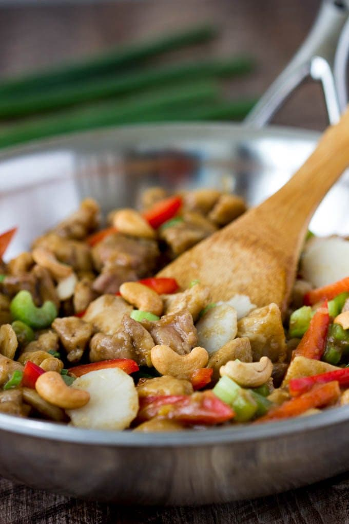 cashew-chicken -skillet