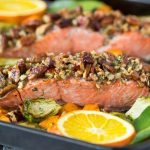 Oven Baked Pecan Crusted Salmon