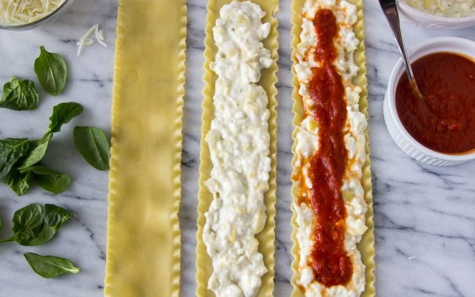 How to Make Spinach and Artichoke Lasagna Roll-Ups