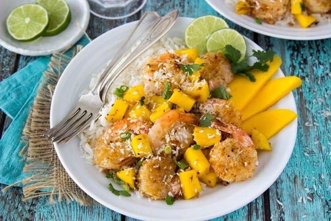 baked-coconut-shrimp-mango-rice 2