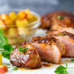 Spice Roasted Pork Tenderloin + Chunky Applesauce