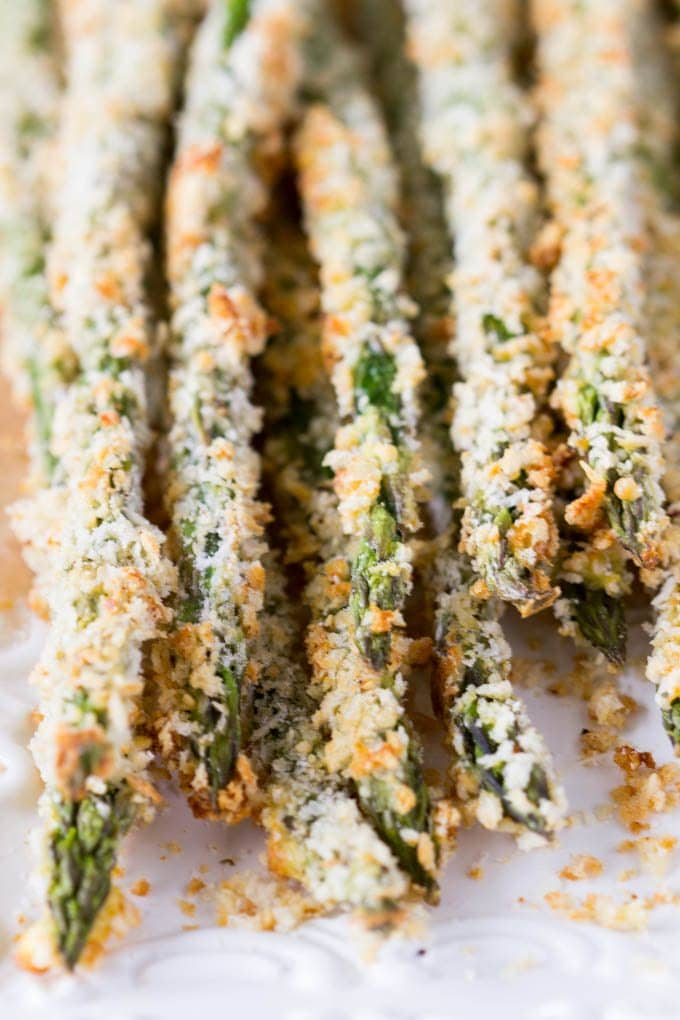 Crispy Baked Asparagus | Simple Healthy Kitchen
