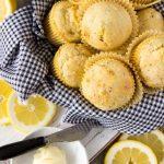 Healthy Lemon Chia Seed Muffins