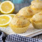 Healthy Lemon Chia Seed Muffins