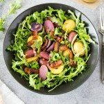 "Warm Potato Salad + Honey Mustard Vinaigrette {aka ""Easter Basket Salad"" }"