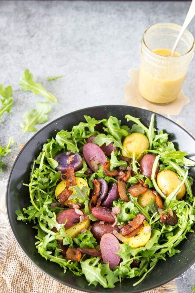 warm-potato-salad-easter-basket-salad featured pinterest