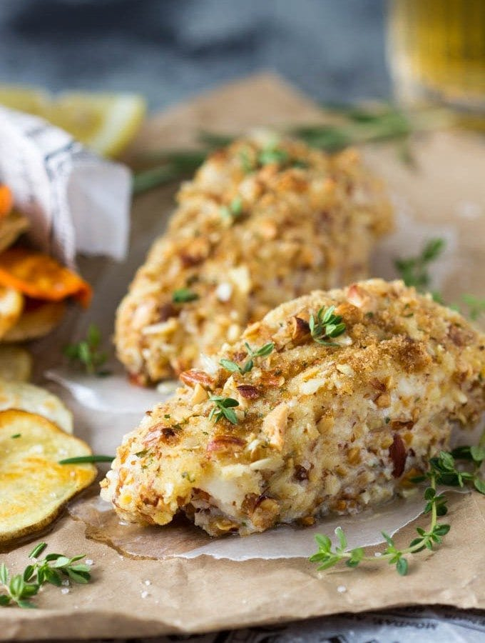 Healthy Fish and Chips | SimpleHealthyKitchen.com