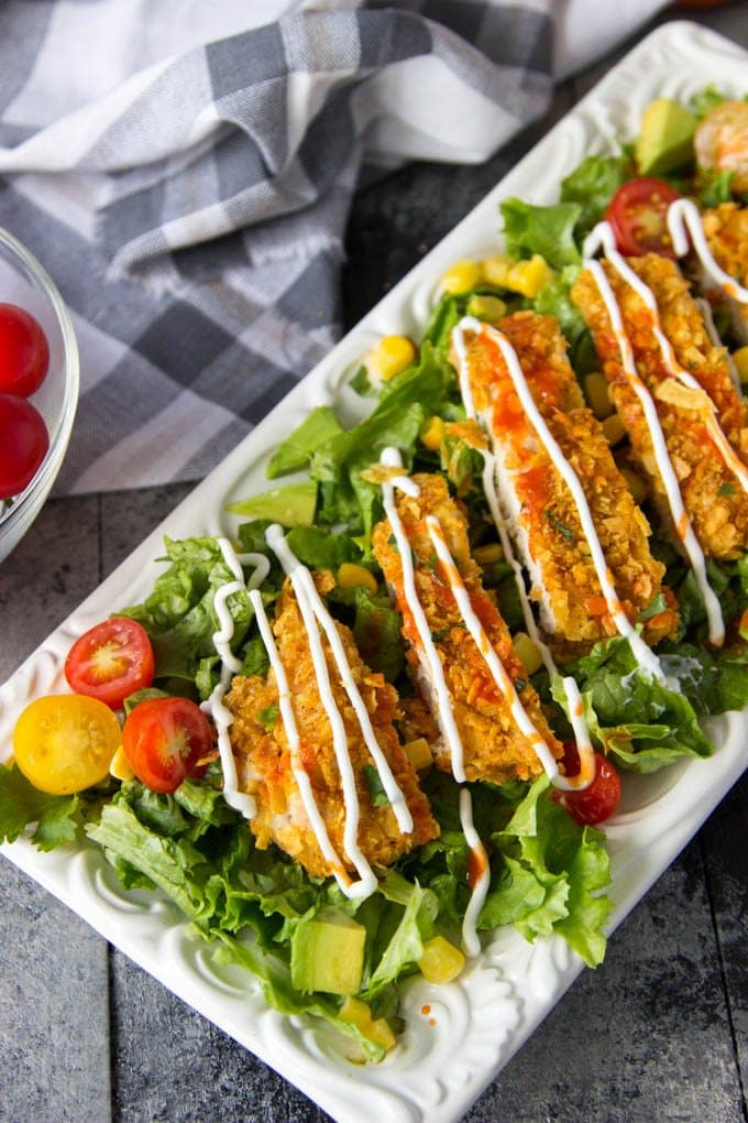 Tortilla Chip Taco Chicken Salad