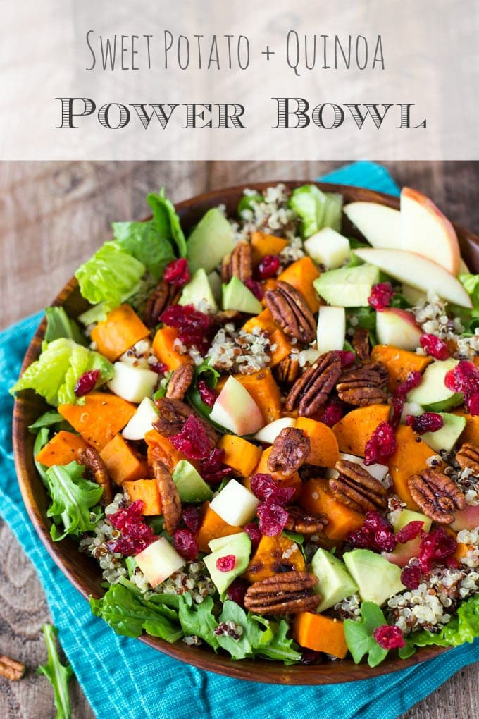 Sweet Potato + Quinoa Power Bowl