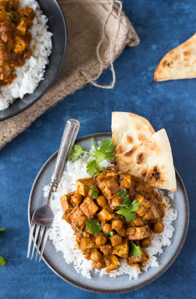 Indian Butter Chickpeas