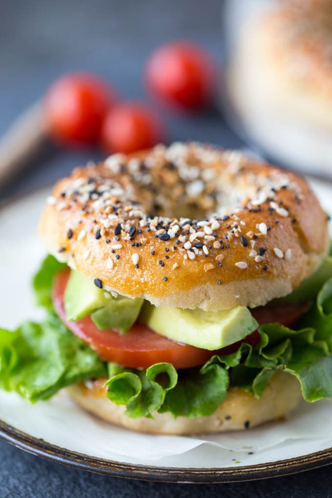 Paleo Everything bagels sandwich {Paleo, Grain-Free, Gluten-Free}