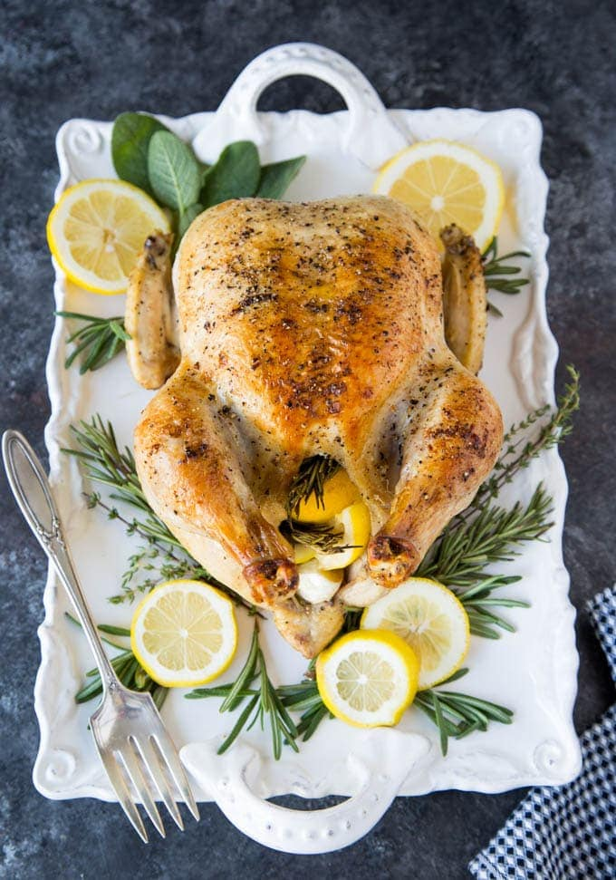 roasted-chicken-lemon-garlic-rosemary featured