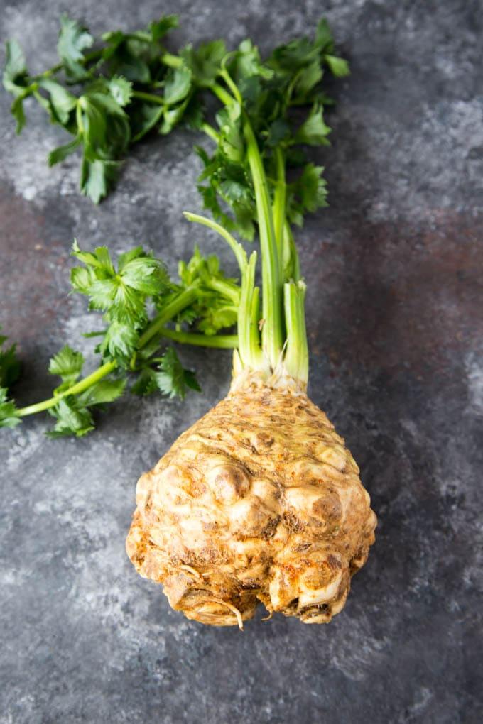 Celery Root (aka Celeriac)