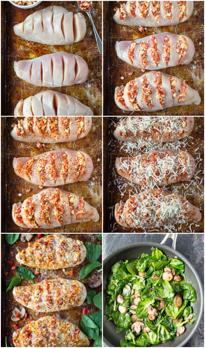 How to make Smothered Hasselback Chicken step by step