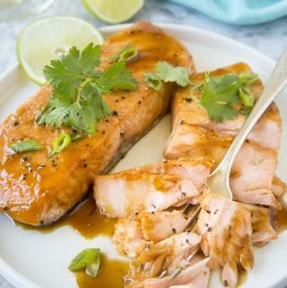 Vietnamese Caramel Salmon ( Instant Pot or Oven Baked)