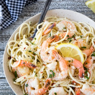 Easy 15 Minute Shrimp Scampi