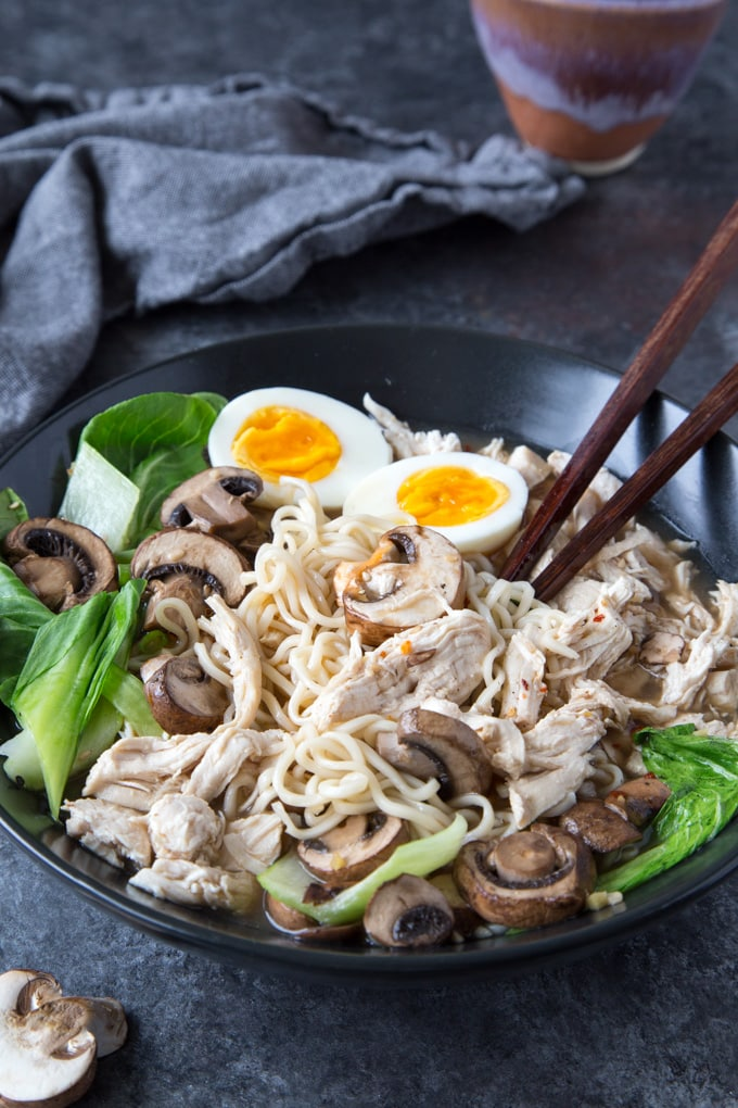 Healthy Bone Broth Ramen