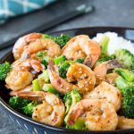Skillet Honey Garlic Shrimp