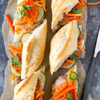 Quick & Easy Banh Mi Sandwich